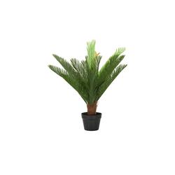 Cycas im Topf ¦ grün ¦ Kunststoff Ø: 80