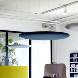 Cascando PILLOW FREE 120 cm Akustik-Deckenpaneel rund