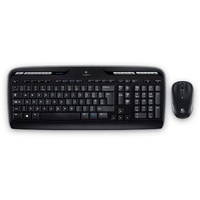 Logitech MK330 Wireless Combo Keyboard DE Set (920-003967)