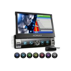 XOMAX Audio-System (XOMAX XM-VN764 1DIN Navi Autoradio mit GPS, SD, USB und BLUETOOTH)