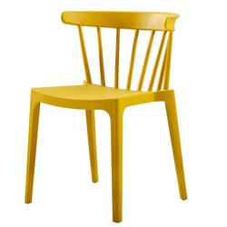 Stühle in Gelb Kunststoff (2er Set)