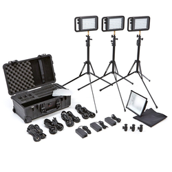Litepanels Lykos+ Bi-Color Flight Kit