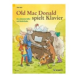 Old Mac Donald spielt Klavier  für Klavier. Uwe Korn  - Buch