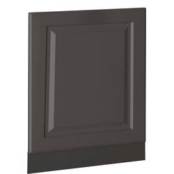 wiho Küchen Möbelblende Erla, 60 cm breit, für teilintegrierbaren Geschirrspüler grau