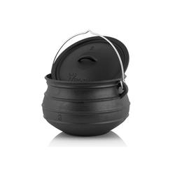 BBQ-Toro Feuertopf BBQ-Toro Potjie #3, für 8 - 14 Personen, 8 Liter, ohne Füße Kochtopf