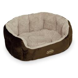 Nobby Hundebett oval Kamega braun, Maße: 86 x 70 x 24 cm