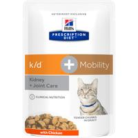 Hill's Prescription Diet k/d+Mobility mit Huhn 12 x 85 g