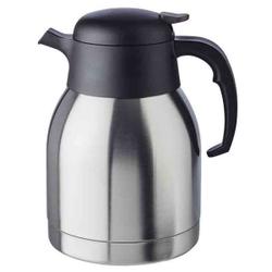 APS CLASSIC Isolierkanne, Getränkekanne für heiße und kalte Getränke, Maße (Ø x H): 14 x 22 cm, 1,5 Liter