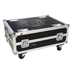 Case für 6x American DJ Element QA IP/HEX IP/QA/HEX, Ladecase