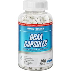 Body Attack BCAA Capsules 180 Caps