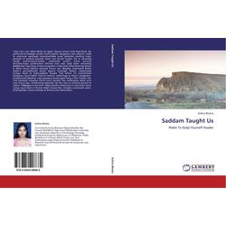 Saddam Taught Us als Buch von Asfina Bhatia