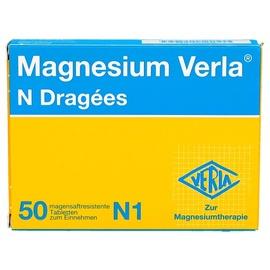 VERLA Magnesium Verla N Dragees 50 St.