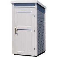 weka Geräteschrank BxTxH: 97x100x200,5 cm, grau