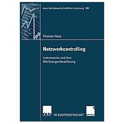 Netzwerkcontrolling. Thomas Hess  - Buch