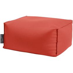 Sitting Point Sitzsack KORFU Roll (1 St), SITTING POINT für Indoor und Outdoor rot