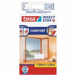 TESA tesa® Insect Stop Fliegengitter Fliegengitter für Fenster weiß 130 x 130 cm