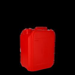 5 Liter Kanister Kunststoff rot - DIN 45 - UN-Y