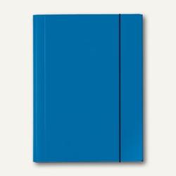 Sammelmappe VELOCOLOR®, A4, Karton, 15 mm Füllhöhe, 350g/qm, blau, 6St., 4442351