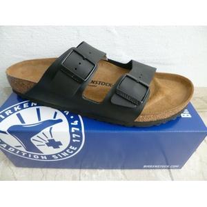 Birkenstock Arizona Pantolette Pantoletten Sandale Hausschuhe schwarz 051793 NEU