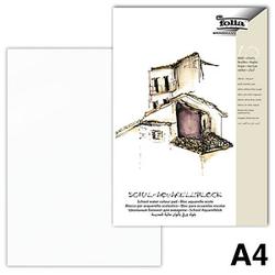 10 folia Aquarellblock SCHULE DIN A4