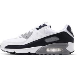 Nike Men's Air Max 90 white/white/particle grey/obsidian 44