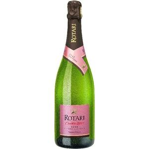 Brut Rose 28+ brut Trento DOC Cuvee aus 75% Pinot Nero, 25% Chardonnay uSekt Rotariu