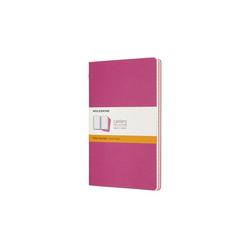 Moleskine Cahier Large/A5 3er Set Liniert Kinetisches Pink