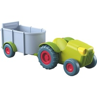 Haba Little Friends Traktor mit Anhänger