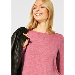 Cecil Rundhalsshirt rot Damen Rundhalsshirts Shirts Sweatshirts