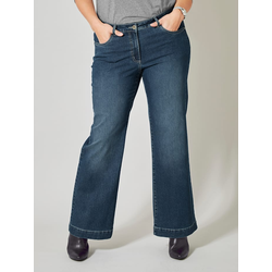 Flare Cut Jeans Nora Dollywood Blau