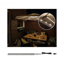 Paulmann 94208 Mobile Strip Parasol Schirmbeleuchtung IP44 4er-Set, 4x40cm