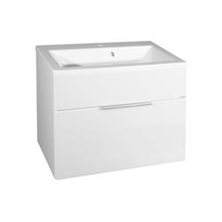 FACKELMANN Waschtisch Kara, Breite 80 cm weiß