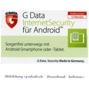 G DATA Mobile Internet Security 1-Gerät / 1-Jahr DEUTSCH / GDATA / Android / KEY