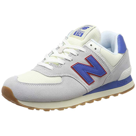 NEW BALANCE ML574 light grey-blue/ white-gum, 44.5