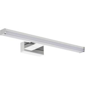 SEBSON® LED Spiegelleuchte 40cm, Wandmontage, Spiegellampe Bad IP44, neutralweiß 4000K, 400x109x21mm, 8W 630lm hell, LED Wandleuchte