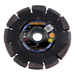 RHODIUS LD402 ALL IN ONE Diamantfräse 150 x 7,0 x 18,0 x 22,23 mm