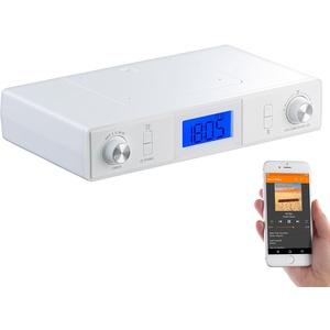 Stereo-FM-Küchen-Unterbauradio mit Bluetooth, Timer, Wecker, LCD, PLL