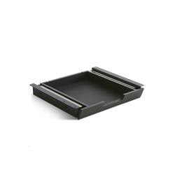 TecLines Schublade TUS schwarz 28.2 cm
