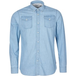 Barbour - Intl Indy Shirt Bluestone - Hemden - Größe: L