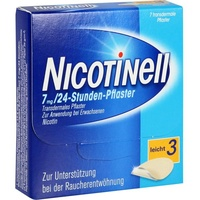 Nicotinell 24-Stunden 7 mg  Pflaster 7 St.