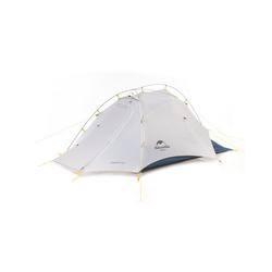 Naturehike Kuppelzelt Cloud-Flügel Ultraleichtes Camping Zelt, Personen: 2, Ultraleicht, Grau/Azurblau