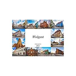 Wolgast Impressionen (Wandkalender 2021 DIN A4 quer)