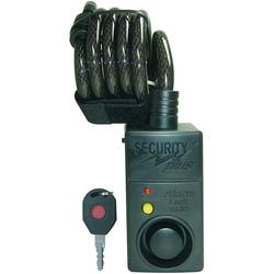 Security Plus Spiralschloss SECURITY plus Fahrrad Alarmschloss mit Bewegungsmelder
