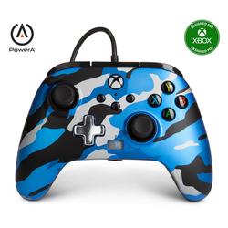 PowerA XBX Wired Controller Metallic Camo Xbox-Controller blau