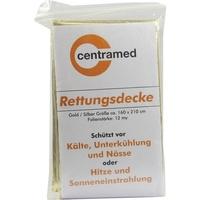 Büttner-Frank RETTUNGSDECKE 160x220 cm gold/silber 1 St