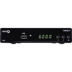 WWiO TRINITY PRO DVB-S2 Receiver Einkabeltauglich, Front-USB