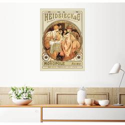 Posterlounge Wandbild, Heidsieck Champagner 50 cm x 70 cm