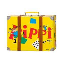 Micki Spielwerkzeugkoffer XL-Kinderkoffer Pippi Langstrumpf gelb