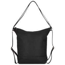 Jost Mesh 3-Way Schultertasche 41,5 cm Laptopfach schwarz