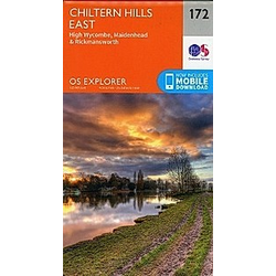 Chiltern Hills East 1 : 25 000 - Buch